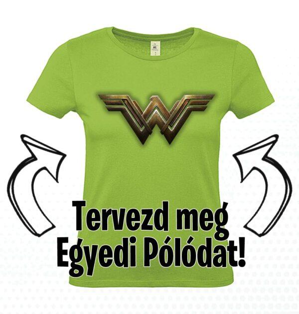 egyedi női póló