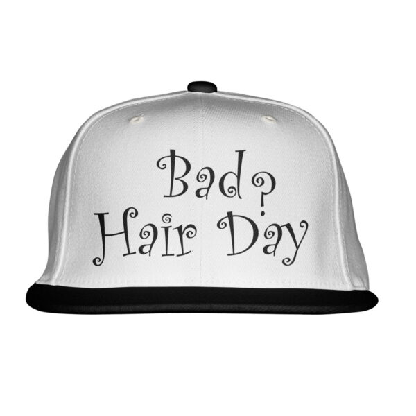 bad hair day baseball sapka flatpeak snapback