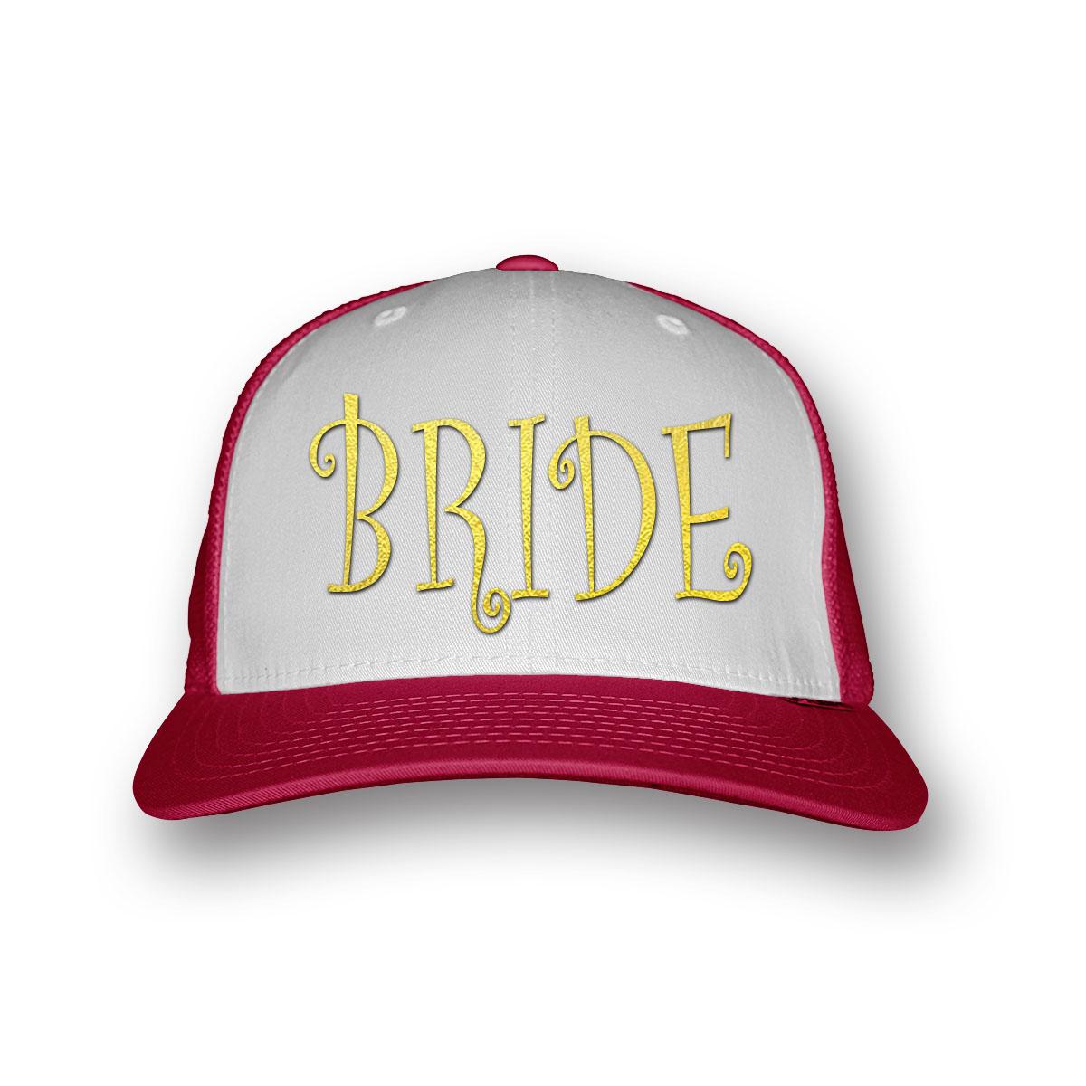 bride baseball sapka lánybúcsúra