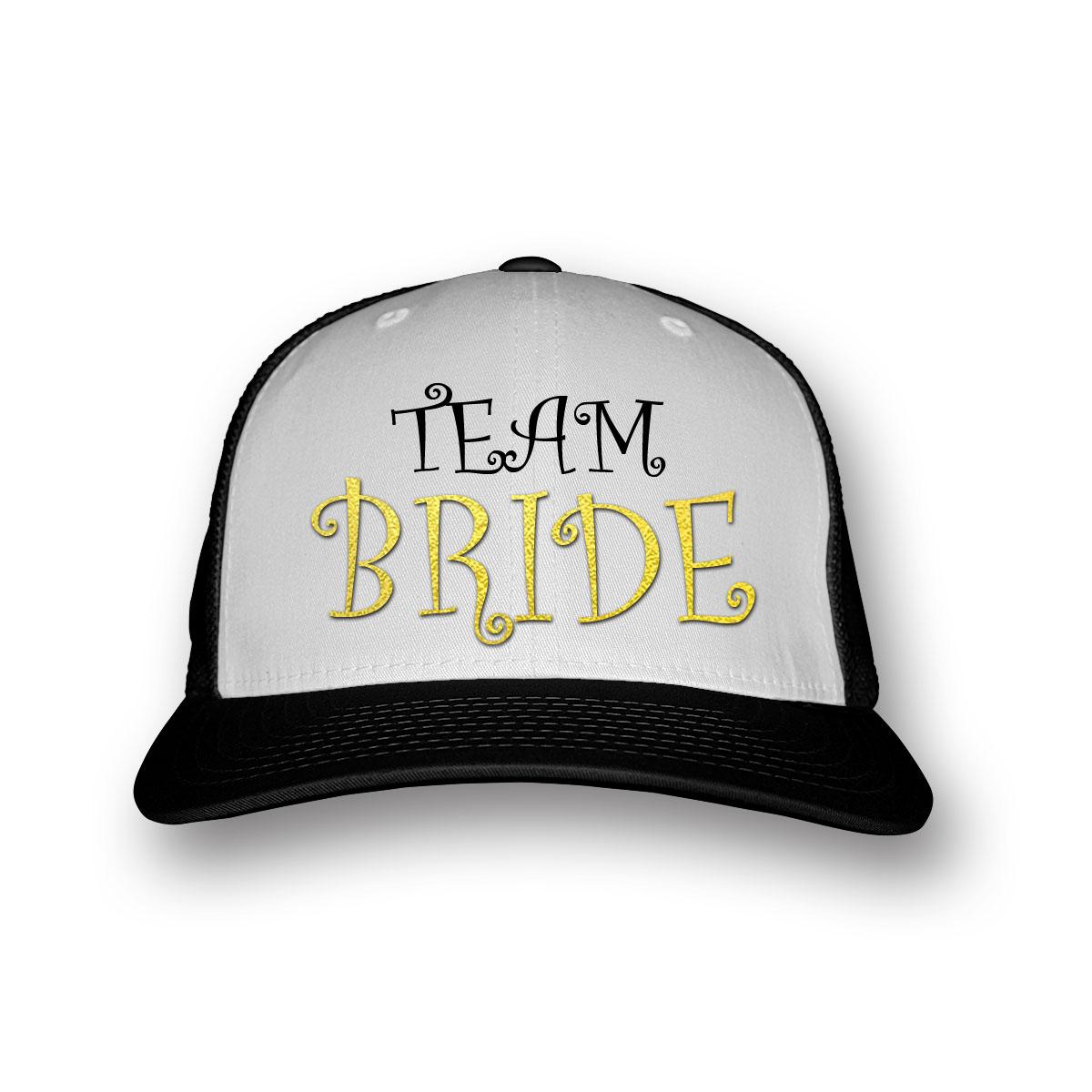 team bride baseball sapka lánybúcsúra