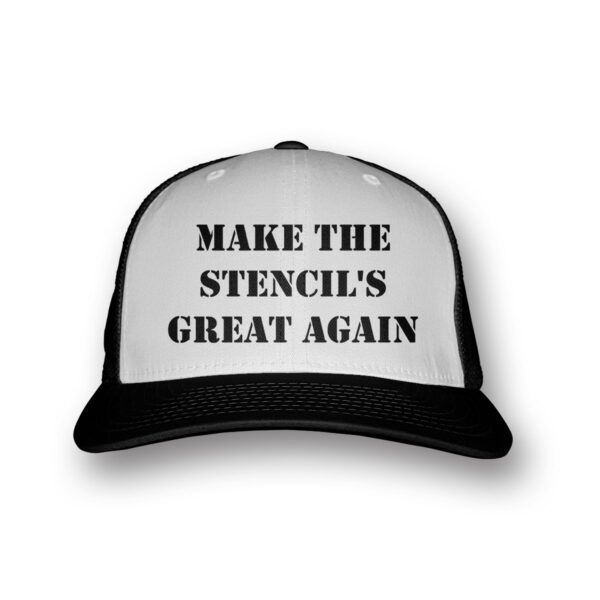make the stencils great again baseball sapka
