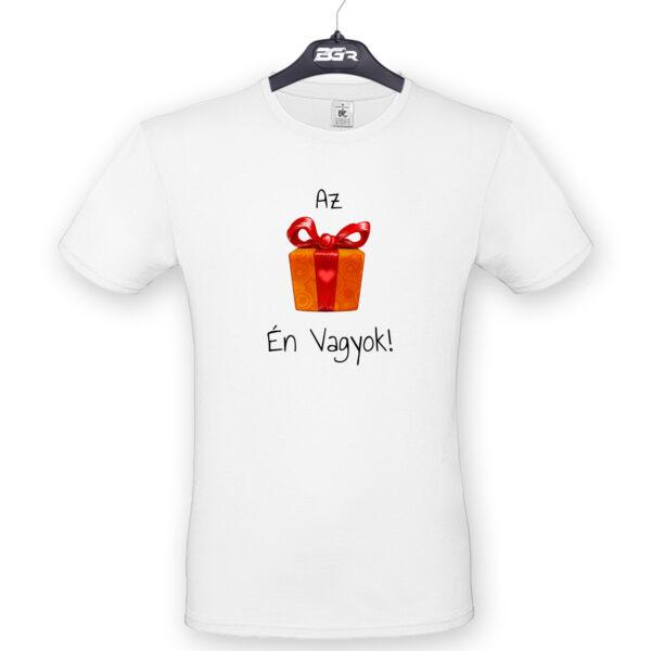 ajándék én vagyok póló