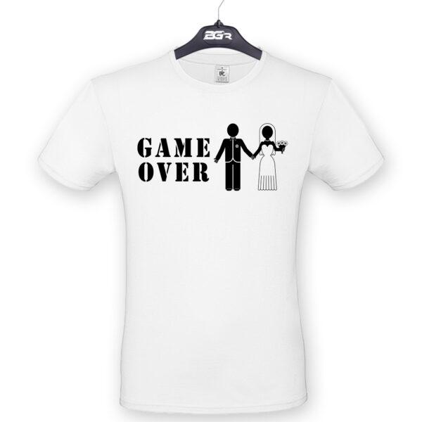 legénybúcsú póló game over