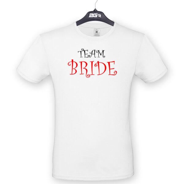 team bride póló lánybúcsúra