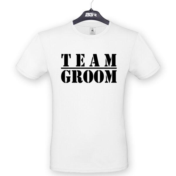 team groom póló legénybúcsúra