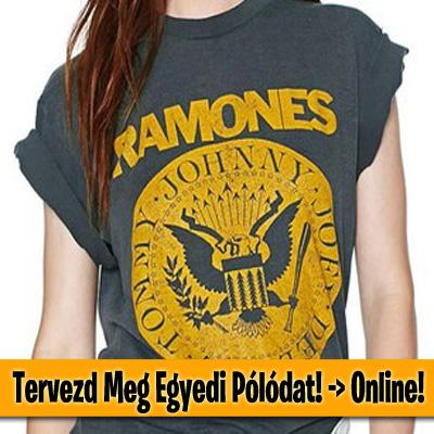 Tervezd meg egyedi pólódat online